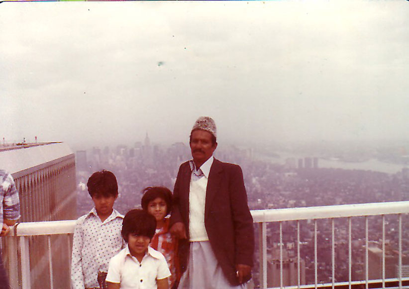 MY_WTC #127 | Asif | The kids with Grandpa at the WTC around 1976