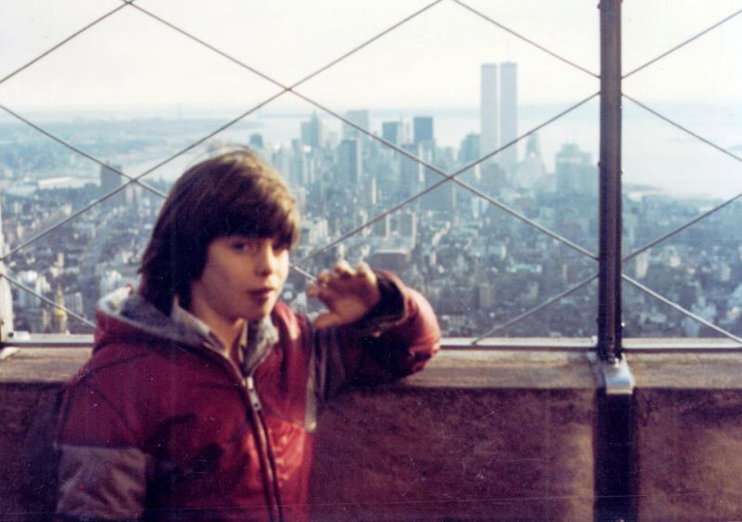MY_WTC #289 | Hank 1980′s | Ernie on Top of  the Empire State Building