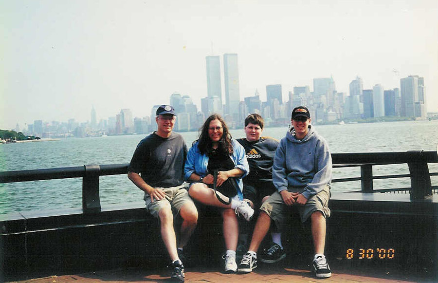 MY_WTC #318 | Eric 2000 | On Liberty Island
