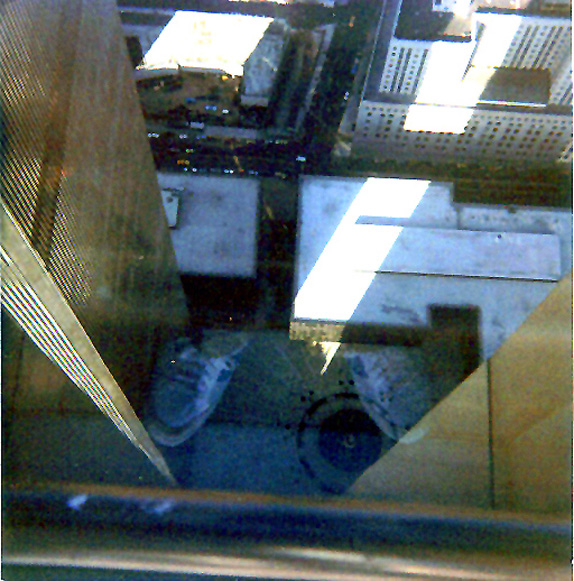 MY_WTC #362 | Christopher 1983 | World Trade Center - 107 looking down