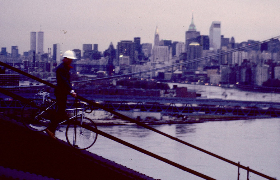 MY_WTC #397 | Steven 1980s | Hell Gate Bridge