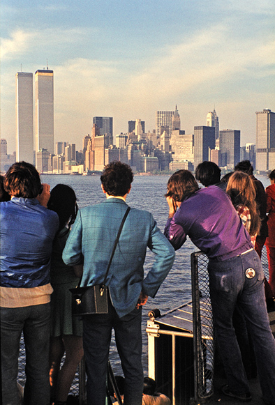 MY_WTC #413 | John 1972 | Liberty Island Ferry