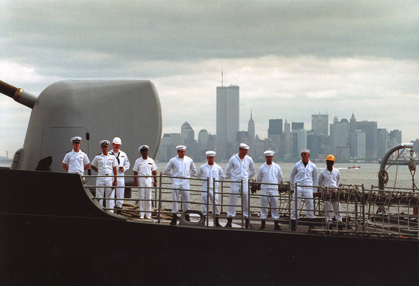 MY_WTC #451 | U.S. Government 1994 | USS NORMANDY