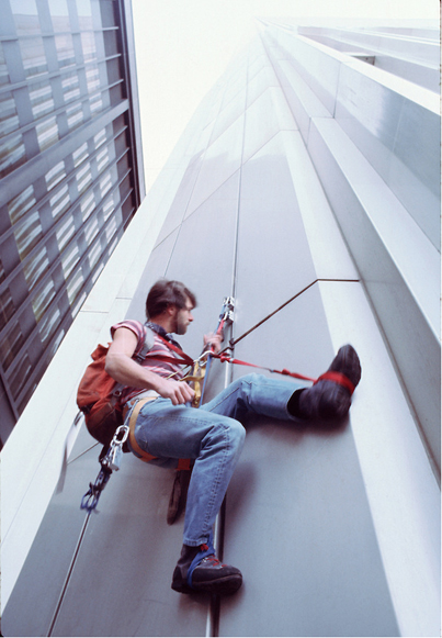 MY_WTC #500 | Michael 26.5.1977 | George Willig climbs the South Tower