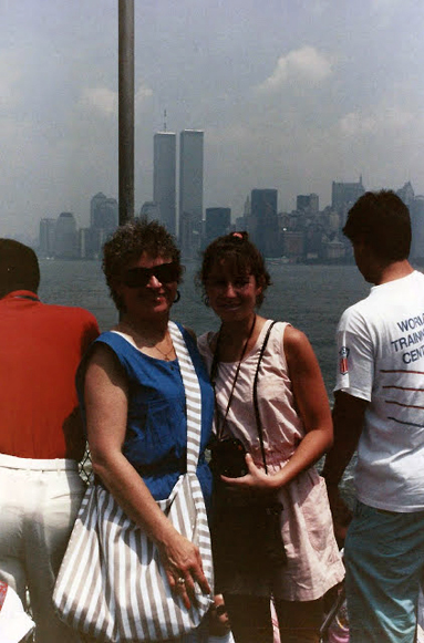 MY_WTC #560 | Cynthia 1989  | Me & The World Trade Center