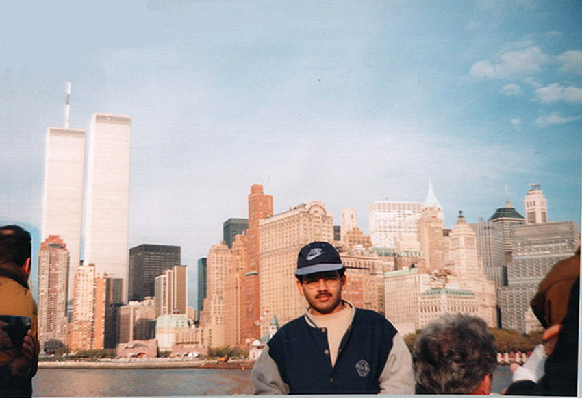 MY_WTC #574 | Kamal 1997 | On the Ferry to Liberty Island