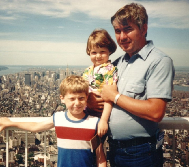 MY_WTC #595 | Kelly 1986 | My Dad, my Brother and Me