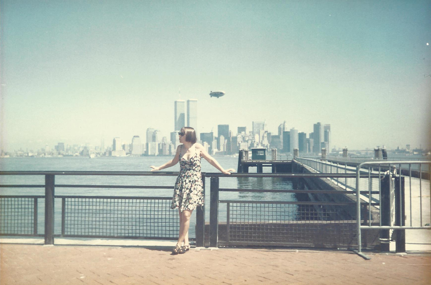 MY_WTC #619 | Anna, August 1993 | Liberty Island