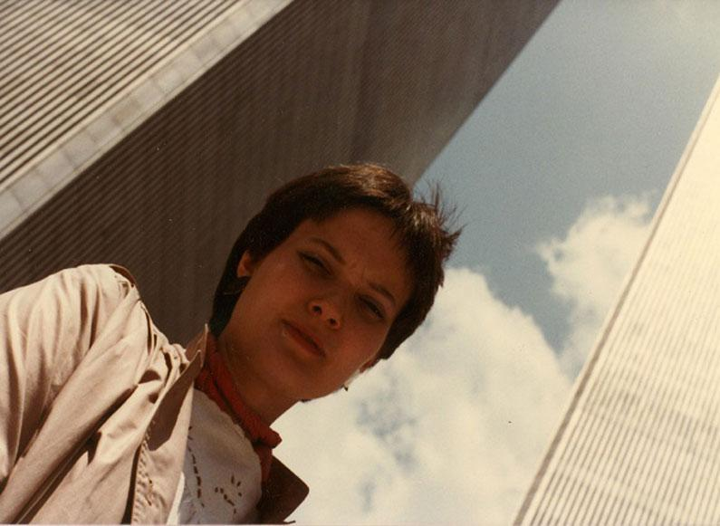 MY_WTC #137 | Danny 1983 | Julie at World Trade Center