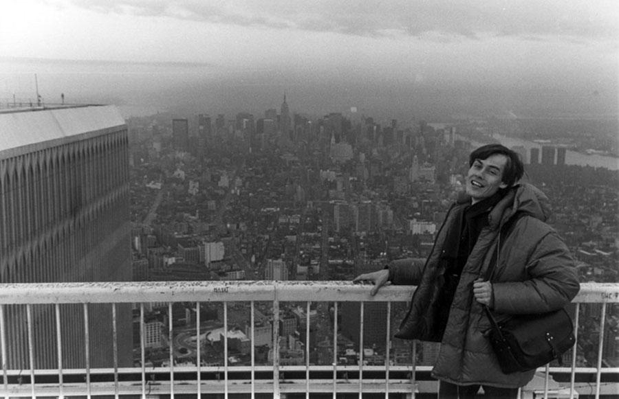 MY_WTC #162 | Patrick, March 1984 | On the roof with F.
