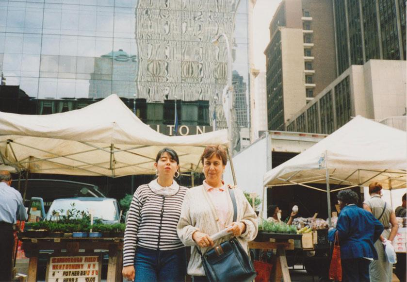 MY_WTC #163 | Andres 1997 | My mother and my sister in the market