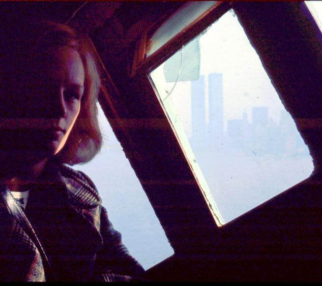 MY_WTC #169 | Renate & Detlef 1974 | Renate inside the crown of the Statue of Liberty