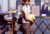 MY_WTC #170 | Renate & Detlef 1974 | Renate on the ferry