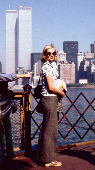 MY_WTC #170 | Renate & Detlef 1974 | Renate on the ferry