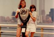 MY_WTC #175 | Leslie, July 1986 | Liberty State Park, NJ