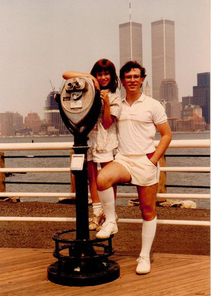 MY_WTC #176 | Leslie, July 1986 | Liberty State Park, NJ