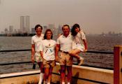 MY_WTC #177 | Leslie, July 1986 | Liberty State Park, NJ