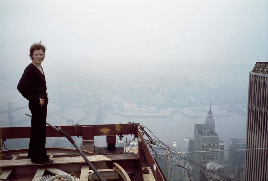 MY_WTC #187 | photo Jean-Louis Blondeau, 7. August 1974 | Philippe Petit on Wire