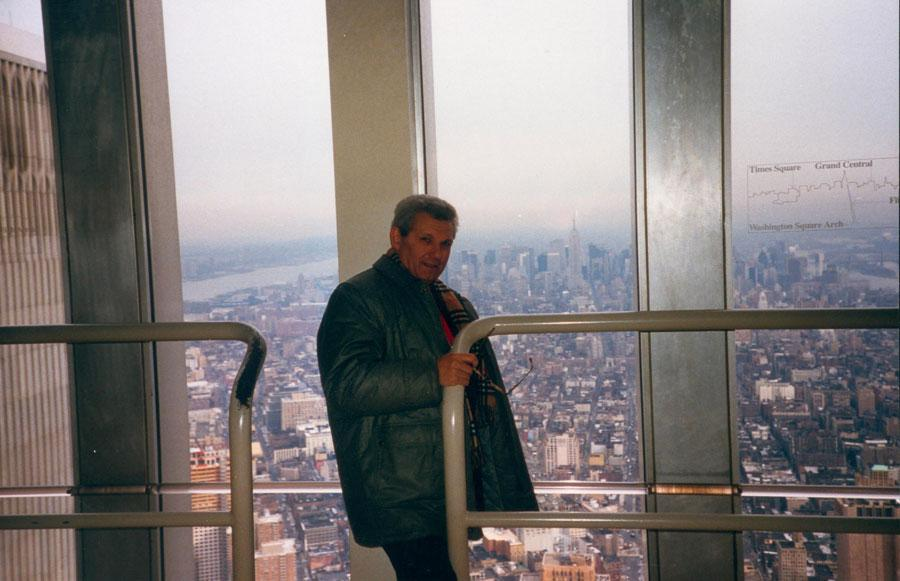 MY_WTC #190 | Francesca 1988 | Elio on WTC2-Observatory