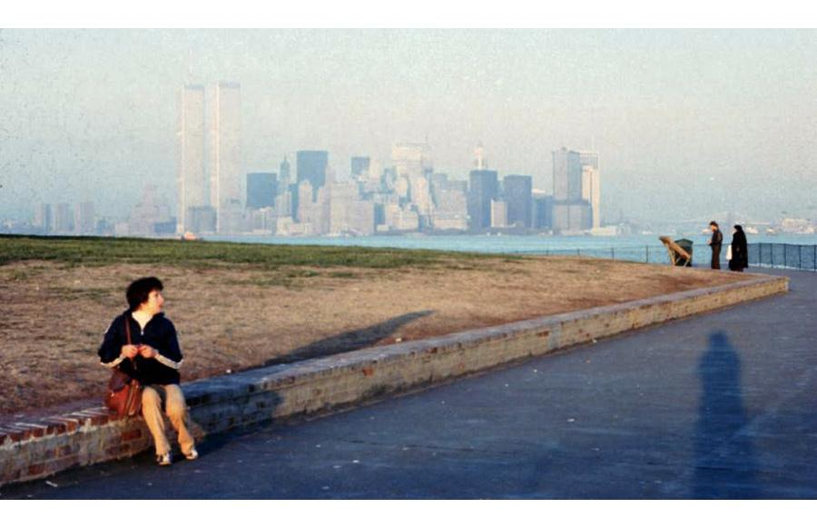MY_WTC #194 | Mariano 1979 | The Twin Towers seeing from Liberty Island