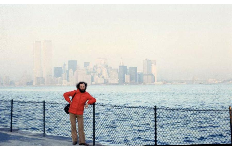 MY_WTC #195 | Mariano 1979 | The Twin Towers seeing from Liberty Island