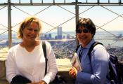 MY_WTC #221 | Katherine | Louann & Kat, Top of Empire State Building, July 2000