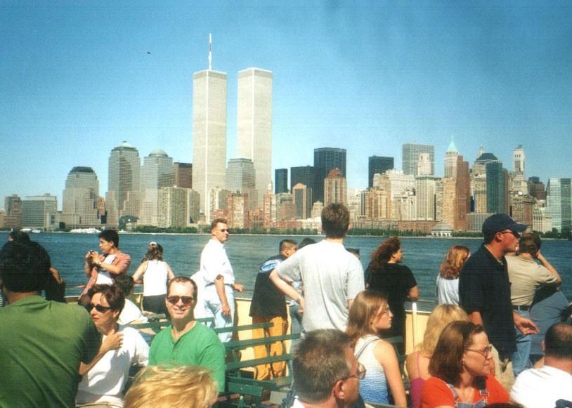 MY_WTC #238 | Kaan | WTC from Liberty Island ferry in August, 2001