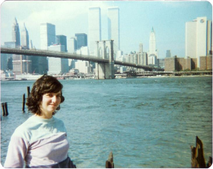 MY_WTC #245 | Sarah | View from Brooklyn, 1982