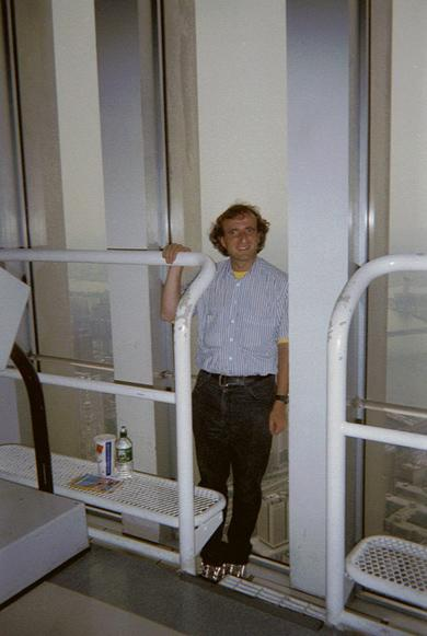 MY_WTC #273 | Michael | Me in Tower2, August 2001