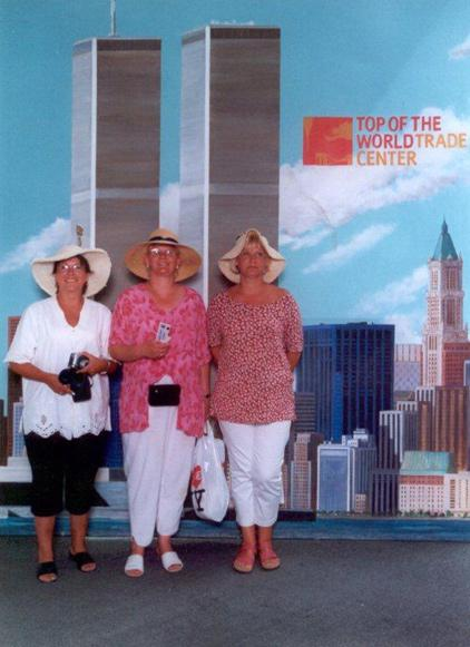 MY_WTC #315 | Hildegard 2001 | Mural