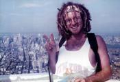 MY_WTC #333 | Keith 1991 | Me atop WTC