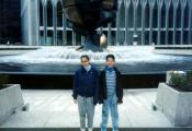MY_WTC #338 | Tom October 23, 1993 | Ed and Carolina