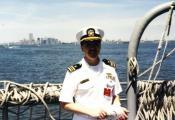 MY_WTC #358 | John 1993 | Aboard USS Normandy