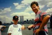 MY_WTC #361   Kyle 1990's     WTC, Dad and Scott