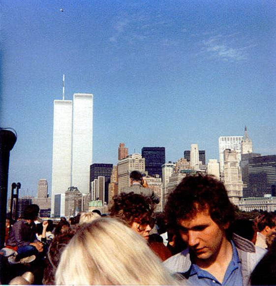 MY_WTC #363 | Christopher 1983 | The Twin Towers from New York Harbor