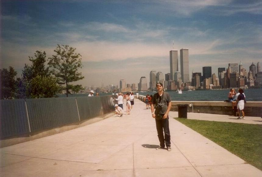 MY_WTC #369 | Michel 1995 | Ellis Island and The Wall Of Honor