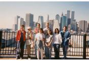 MY_WTC #370 | abf 1995 | Brooklyn Promenade Rennert Bilingual weekly excursion New York City