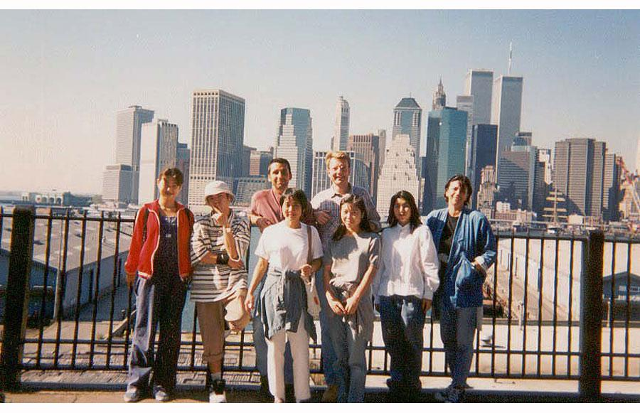 MY_WTC #370 | abf 1995 | Brooklyn Promenade Rennert Bilingual weekly excursion New York City