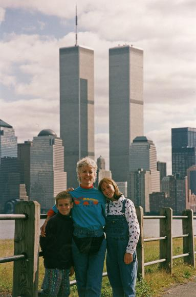 MY_WTC #377 | Paul 10-1996 | Lower Manhattan with Devin, Aslan and Lori