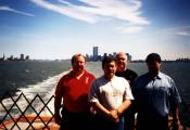 MY_WTC #385 | John 1997 | Rear of Staten Island Ferry