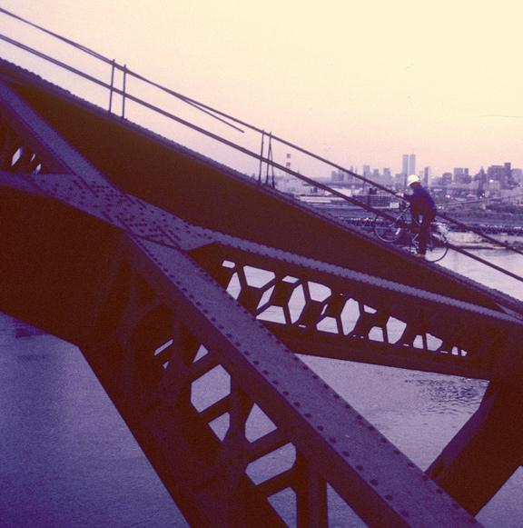 MY_WTC #398 | Steven 1980s | Hell Gate Bridge