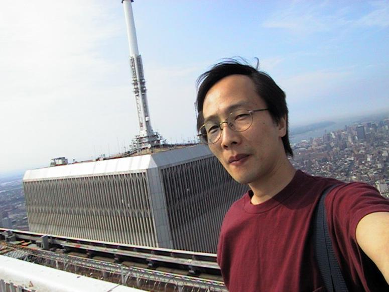 MY_WTC #403 | Takayuki 1999 | ワールド・トレード・センターNo.2 ビルの屋上にて