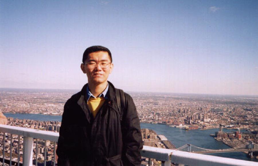 MY_WTC #405 | Kazuyuki 1.12.1998 | ワールド·トレード·センター、ニューヨークの上に
