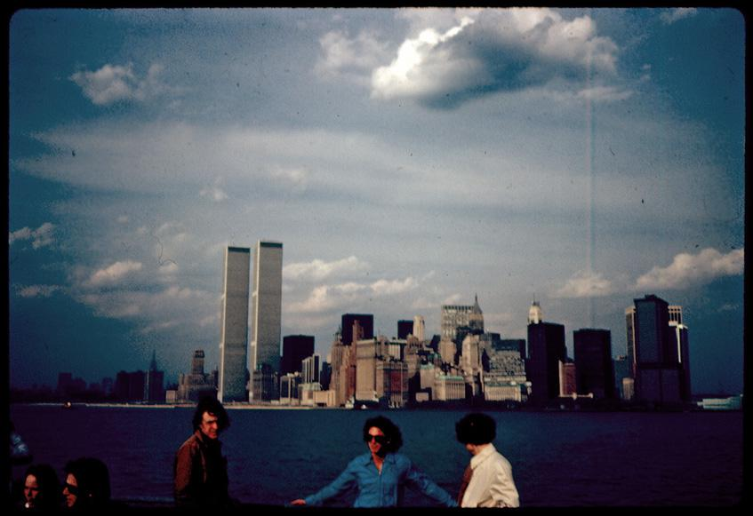 MY_WTC #407 | Todd 1978 | Unknown person on the ferry to staten island