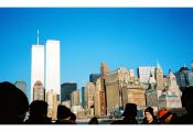MY_WTC #409 | Jun 2000 | the passengers on boat, going to Liberty Island