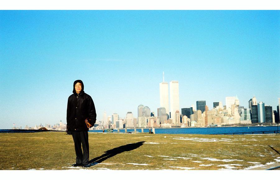 MY_WTC #411 | Jun 2000 | リバティ島の私