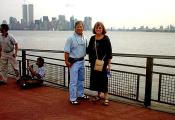MY_WTC #448 | Allen & Donna September 4, 2001 | Liberty Island