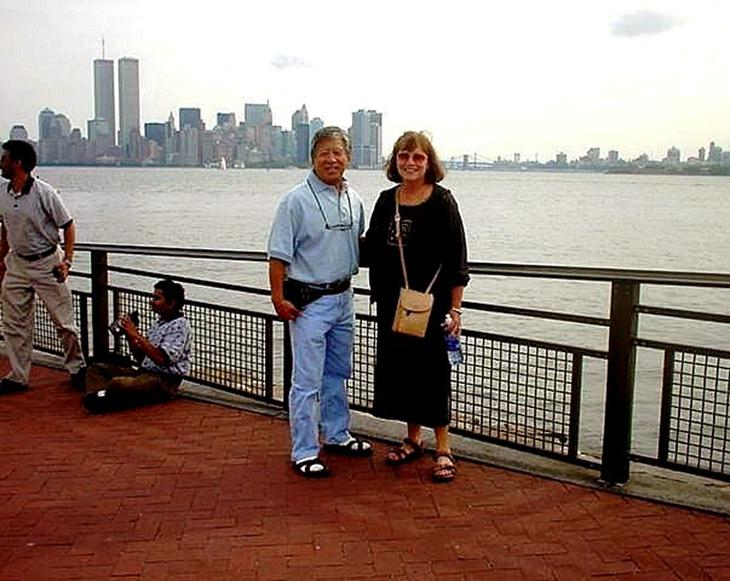 MY_WTC #448 | Allen & Donna September 4, 2001 | Liberty Island