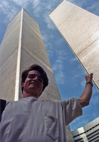 MY_WTC #469 | Verne M. 1990's | holding up the tower