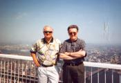 MY_WTC #487 | Boyd 2001 | Dave and Boyd on top of the world